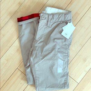 Gap boys flannel lined pants